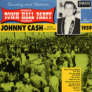 LP - Johnny Cash & The Tennessee Two - Live At Town Hall Party 1959