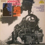 LP - Johnny Cash - Story Songs Of The Trains And Rivers