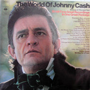 Double LP - Johnny Cash - The World Of Johnny Cash