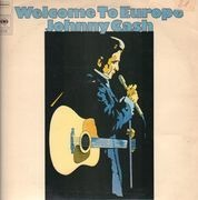 LP - Johnny Cash - Welcome To Europe