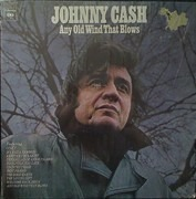 LP - Johnny Cash - Any Old Wind That Blows