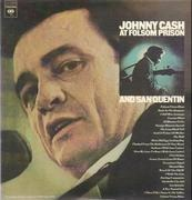 Double LP - Johnny Cash - At Folsom Prison And San Quentin