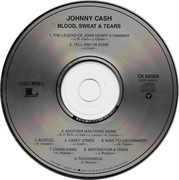 CD - Johnny Cash - Blood, Sweat And Tears