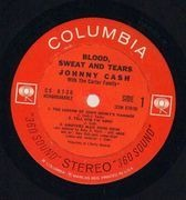 LP - Johnny Cash - Blood, Sweat And Tears