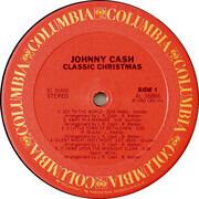 LP - Johnny Cash - Classic Christmas
