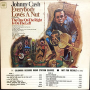 12inch Vinyl Single - Johnny Cash - Everybody Loves A Nut