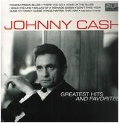 Double LP - Johnny Cash - Greatest Hits And Favorites - 180GRAMS