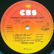 LP - Johnny Cash - Greatest Hits Volume 1