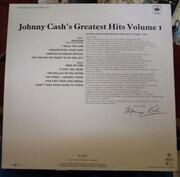 LP - Johnny Cash - Greatest Hits Volume 1