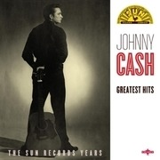 LP - Johnny Cash - Greatest Hits - VERY BEST OF JOHNNY CASH'S HITS RELEASED ON SUN R