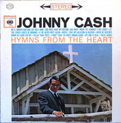 LP - Johnny Cash - Hymns From The Heart - Pitman Pressing