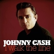 Double LP - Johnny Cash - I Walk The Line