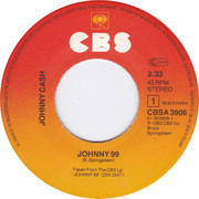 7inch Vinyl Single - Johnny Cash - Johnny 99