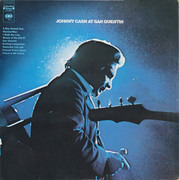 LP - Johnny Cash - Johnny Cash At San Quentin - First press