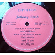 LP - Johnny Cash - Johnny Cash