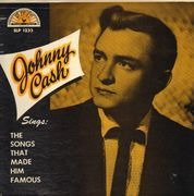 LP - Johnny Cash - Sings The Songs That Made Him Famous - Original US, Microgroove
