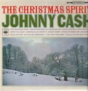 LP - Johnny Cash - The Christmas Spirit - UK ORIGINAL