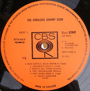 LP - Johnny Cash - The Fabulous Johnny Cash