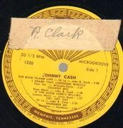 LP - Johnny Cash - With His Hot And Blue Guitar - Original 1st US