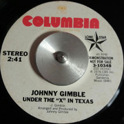 7inch Vinyl Single - Johnny Gimble - Under The 'X' In Texas