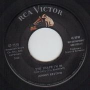 7inch Vinyl Single - Johnny Restivo - The Shape I'm In / Ya Ya - Original US. Picture Sleeve
