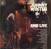 Double LP - Johnny Winter - And/Live