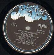 LP - Johnny Winter & Edgar Winter - Together - Promo + obi & iron-on