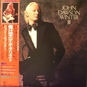 LP - Johnny Winter - John Dawson Winter III - Promo + obi & insert