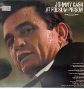 LP - Johnny Cash - At Folsom Prison - orange labels