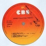 LP - Johnny Cash - At San Quentin
