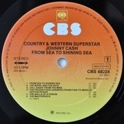 Double LP - Johnny Cash - Country And Western Superstar