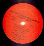 LP - Johnny Cash - Destination Victoria Station