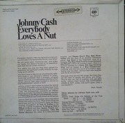 LP - Johnny Cash - Everybody Loves A Nut
