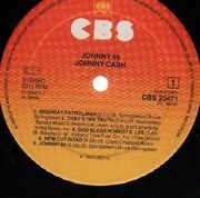 LP - Johnny Cash - Johnny 99