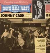 LP - JOHNNY CASH - LIVE AT TOWN HALL..1958 - ..PARTY, ON 180 GR. HQ VINYL