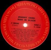LP - Johnny Cash - Man In Black