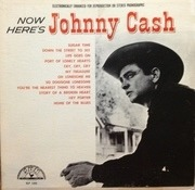 LP - Johnny Cash - Now Here's Johnny Cash