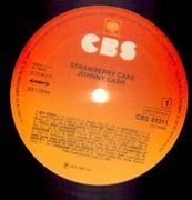 LP - Johnny Cash - Strawberry Cake