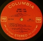 LP - Johnny Cash - The Holy Land - 3D Cover