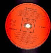 LP - Johnny Cash - The Holy Land