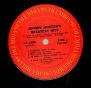 LP - Johnny Horton - Johnny Horton's Greatest Hits