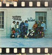 LP - Johnny Rivers - L.A. Reggae