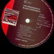 LP - Johnny Winter - The Progressive Blues Experiment