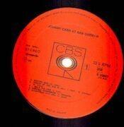 LP - Johnny Cash - Johnny Cash At San Quentin
