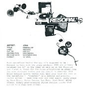 12inch Vinyl Single - Jona - Freefall EP