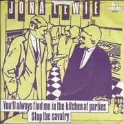 7inch Vinyl Single - Jona Lewie - You'll Always Find Me In The Kitchen At Parties