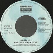 7inch Vinyl Single - Jonny Hill - Nur Allzugern