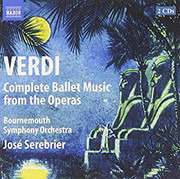 Double CD - Verdi - Complete Ballet Music From The Operas