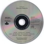 CD - Joy Division - Unknown Pleasures - PRS Louviers Pressing