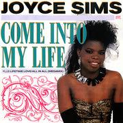 12inch Vinyl Single - Joyce Sims - Come Into My Life